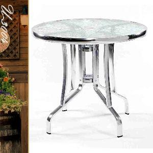 圓型餐桌.60CM鋁製玻璃圓桌.圓茶几.置物桌.洽談桌.餐桌子.休閒桌.庭園桌.推薦哪裡買專賣店