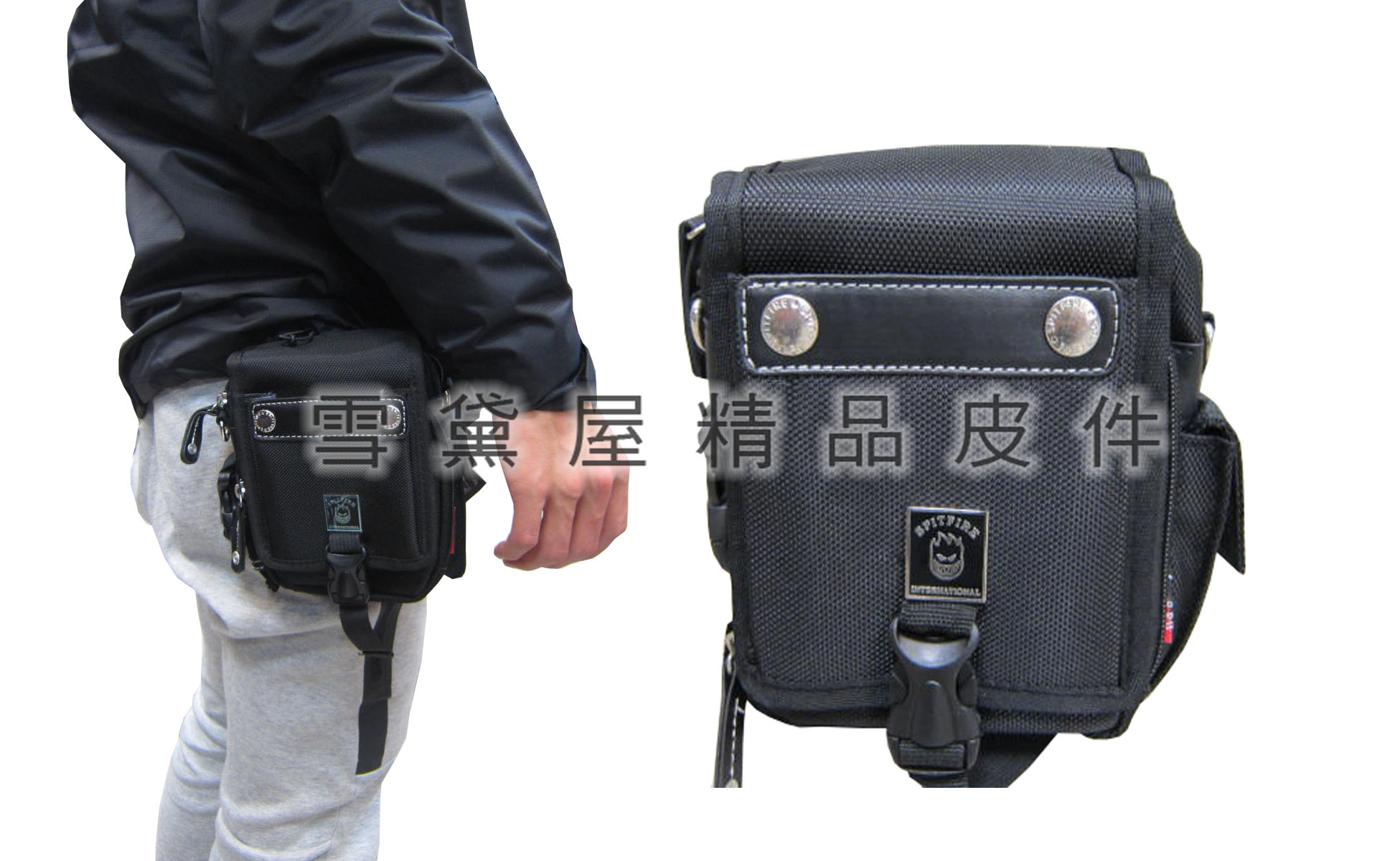 雪黛屋~SPITFIRE腰包中容量外掛式腰包三用功能可外掛可腰包斜側包工具包Q2261