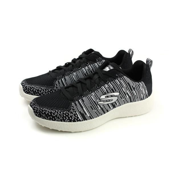 SKECHERS休閒運動鞋男鞋黑色52107BKW no642