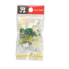 SDI 手牌 #248D 13mm彩色長尾夾隨手包