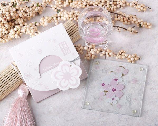 櫻福杯墊(1入裝) 婚禮小物 送客小禮 婚禮佈置/入
