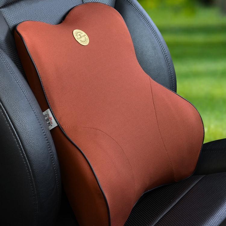 汽車靠墊腰墊司機腰部支撐透氣靠背座椅護腰頭枕腰靠套裝腰托腰枕