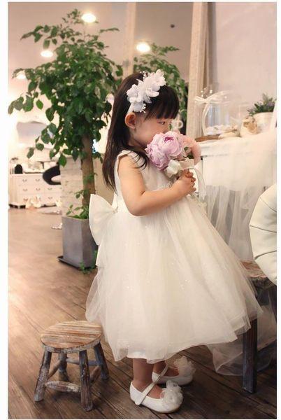45 Design訂做款式7天到貨兒童禮服花童禮服兒童婚紗公主裙花童婚紗生日禮服蓬蓬裙