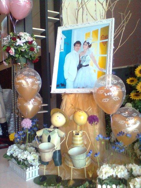 情意花坊北縣永和花店-婚禮會場佈置超低優惠價只要3600元樹林一品香餐廳