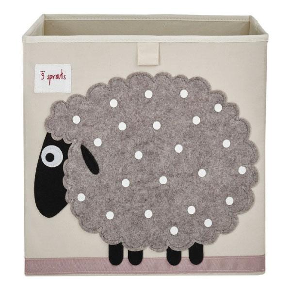 【原廠公司貨】加拿大3 Sprouts 收納箱-小綿羊