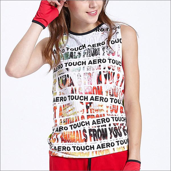 流行挖袖背心罩衫TA558商品圖不含內搭男女皆適宜-百貨專櫃品牌TOUCH AERO瑜珈服有氧服韻律服