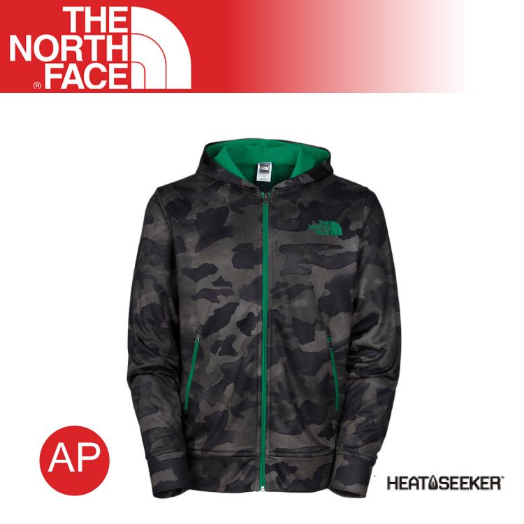 【The North Face 男 Heatseeker風格兜帽外套《迷彩印花》】CLG1/耐磨/防風外套/輕量
