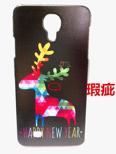 俏魔女美人館瑕疵Samsung J彩色鹿水晶硬殼手機殼手機套保護殼保護套