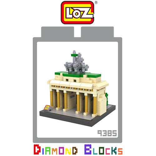LOZ 迷你鑽石小積木 德國柏林 布蘭登堡門 世界建築 樂高式 組合玩具 益智玩具 原廠正版