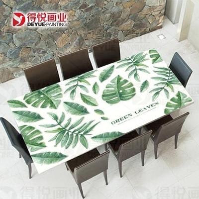 家具貼膜貼紙不透明玻璃茶幾貼大理石臺桌面保護膜餐桌翻新