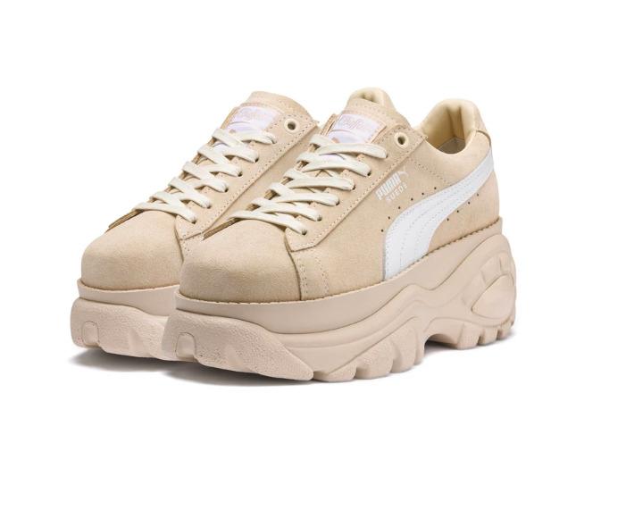 v[TellCathy]Puma X Buffalo 膚色 裸色 厚底鞋 增高鞋 女鞋 368499-04