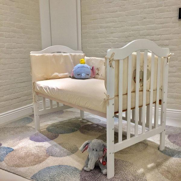 喬依思La joie Bella貝拉嬰兒中床嬰兒床附床墊~麗兒采家