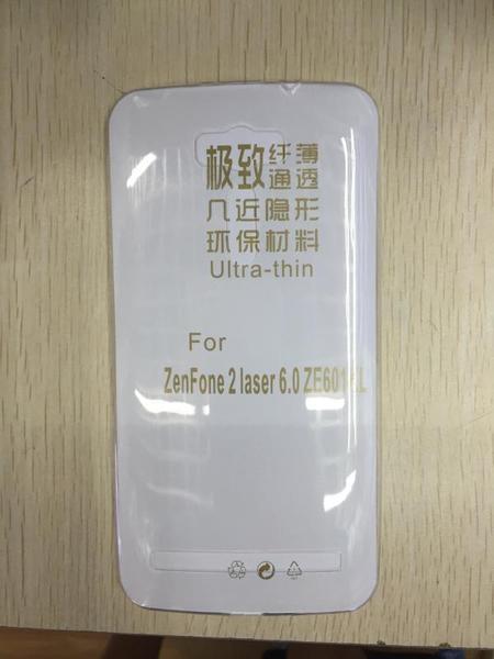 88柑仔店~華碩zenfone 2 Laser手機殼6寸ZE601KL超薄TPU 600KL保護軟套透明