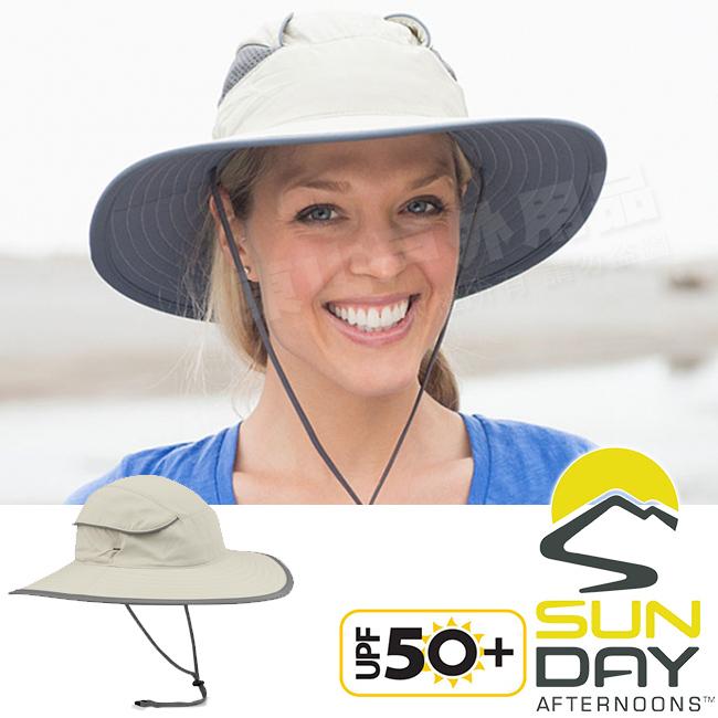 Sunday Afternoons S2A02258B-219奶油防曬透氣圓盤帽Compass抗UV遮陽帽