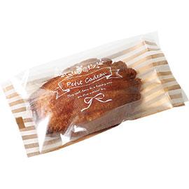 《荷包袋》折角點心袋  金色巴黎 6.5x12.7CM(100入/包)