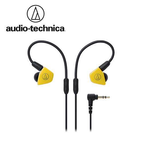 敦煌樂器Audio-Technica ATH-LS50雙動圈耳塞式耳機黃色款