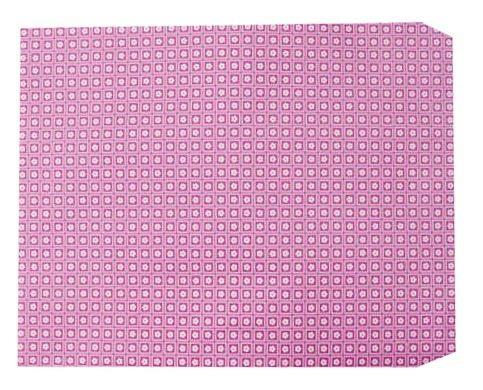 成昌3號8k粉紅底小花圖案貼心禮物袋款式隨機出貨100張束
