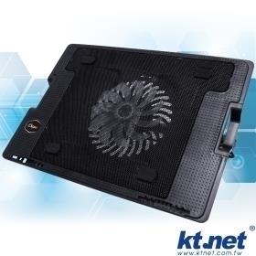 【鼎立資訊】KTNET  S607 五段 升降式 筆記型 電腦 散熱底座 可支撐9~17吋 (廣)