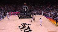 Paul George with a deep 3 vs the Phoenix Suns