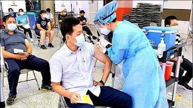 警察節禮物!花蓮外勤警員接種疫苗