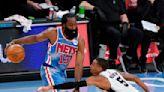 Harden returns, comes off Nets' bench against Spurs
