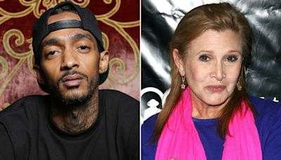 Nipsey Hussle, Carrie Fisher to Be Honored Posthumously with Stars on the Hollywood Walk of Fame