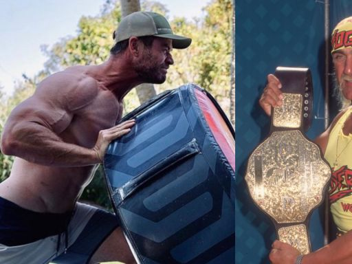 Hulk Hogan says Chris Hemsworth is now ready to play him after muscle-bound pics go viral