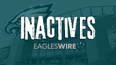 Eagles vs. Panthers inactives for Week 5