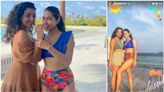 Sara Ali Khan slips into a swimsuit for beach day on Maldives vacation with friend. See pics