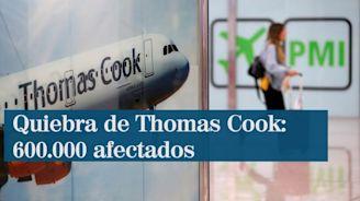 Thomas Cook se declara en quiebra y deja a 600.000 turistas en el extranjero
