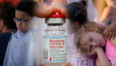 莫德納公司:疫苗對6到11歲孩童有效 能產生強烈抗體反應