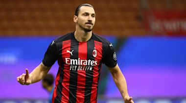 Zlatan Ibrahimovic leads Serie A in goals after scoring twice in AC Milan's 3-3 tie with Roma (video)