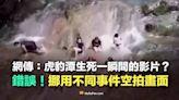 謠言終結站》虎豹潭生死瞬間影片曝光?查核平台:錯誤!