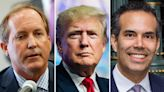 Trump backs embattled 'patriot' Texas AG Paxton over George P. Bush