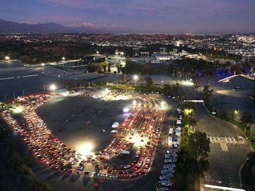 Dodger Stadium Reopens As Nation's Largest Vaccination Center