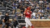 Votto homers in 7th straight game, one shy of MLB record