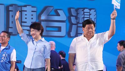 民調》台中二選區民眾最愛盧秀燕 3Q告急了 蔡其昌躺著中槍