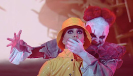 JoJo Siwa Scares Up A Perfect Score As Evil Clown Pennywise In Deranged 'DWTS' Routine