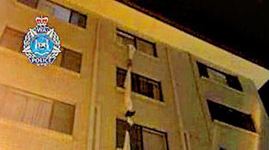 澳男子床單結繩 逃出隔離酒店