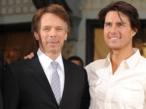 Tom Cruise and Jerry Bruckheimer Become Honorary Naval Aviators Ahead of Top Gun: Maverick Debut