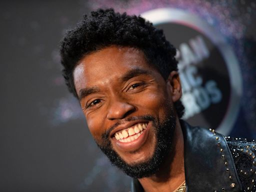 Celebrities and friends honor late actor Chadwick Boseman who died just a few months before his 44th birthday