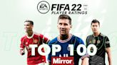 FIFA 22 top 100 player ratings and stats confirmed with Skill Moves error fixed