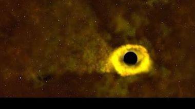 NASA Satellite Captures Black Hole Destroying Star