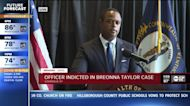 1 of 3 officers in Breonna Taylor death charged with wanton endangerment
