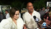 Disneyland hosts premiere for movie 'Jungle Cruise'