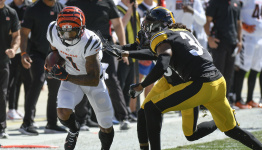 Ja'Marr Chase torches Steelers for third deep TD in first 3 NFL games