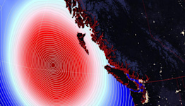 Typhoon-infused low taunts B.C. this week
