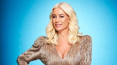 'Dancing on Ice': Denise Van Outen in A&E after dislocating shoulder in face-first fall