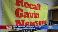 Gov. Gavin Newsom Recall: Supporters Have Enough Valid Signatures For Election