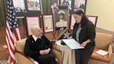Column: Leaders thank Orland Park man, 98, with national honor for volunteer service